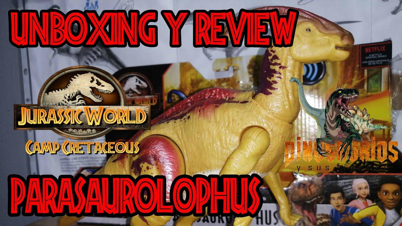 Unboxing & Review Parasaurolophus Sound Strike Camp Cretaceous