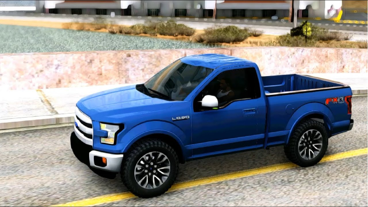 Ford Lobo Xlt 2015 Single Cab Gta Mod Youtube