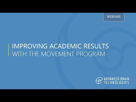 Improving Academic Results with The Movement Program
