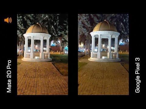 Пример 4K видео на Huawei Mate 20 Pro и Pixel 3
