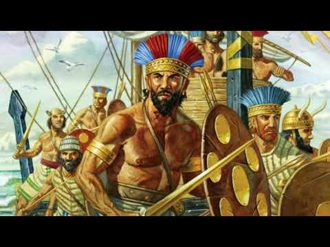 Народы моря и закат бронзового века