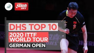 DHS TOP 10 Points | 2020 ITTF German Open