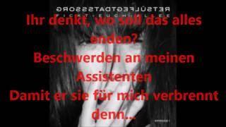 Grossstadtgeflüster Fickt- Euch- Allee - lyrics