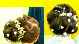 Bridal hairstyle,finger wave joda bun,bridal joda bun hairstyle,prom hairstyle,