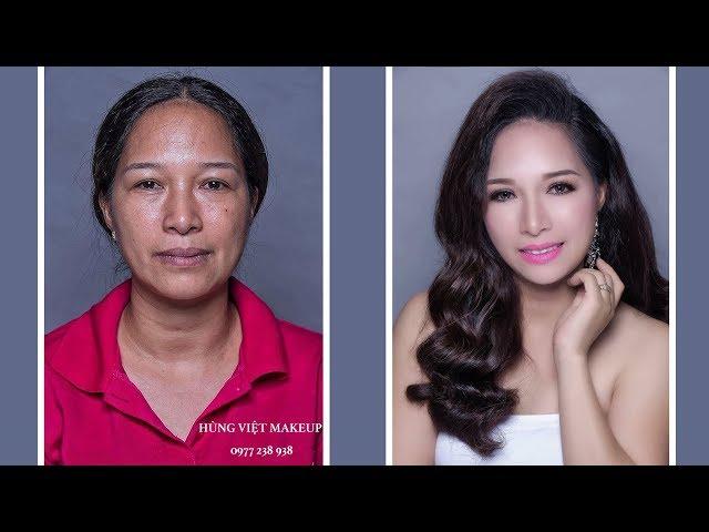 Trang Điểm  U45 Trẻ Hơn 15 Tuổi / Make Up Hùng Việt