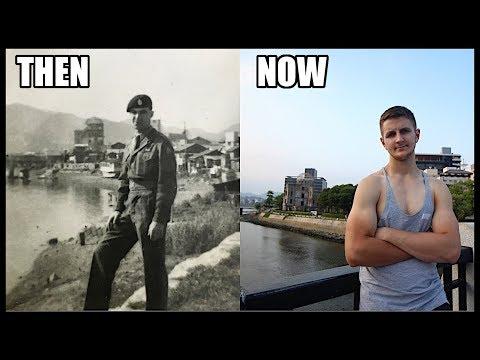 65 YEARS APART IN HIROSHIMA!