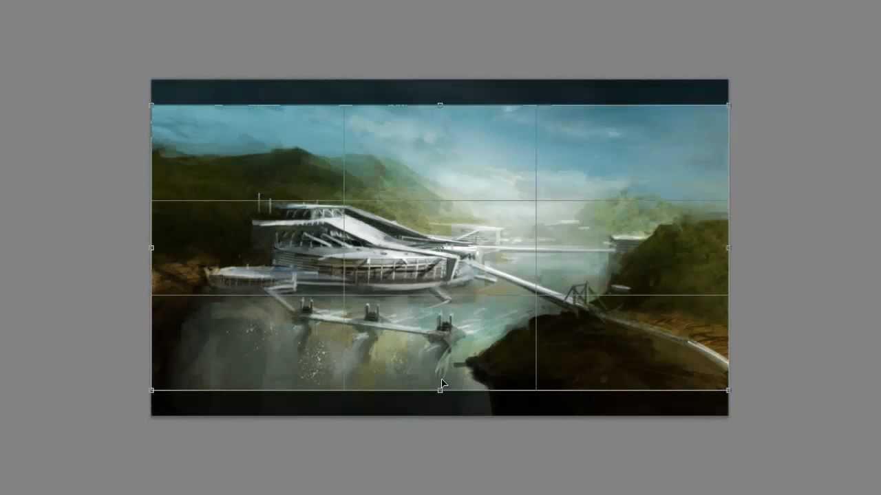 Environmental Concept Art Speedpaint