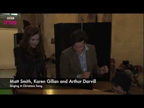 Doctor Who Cast Singing