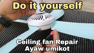 Paano mag repair ng Ceiling Fan na Desposable