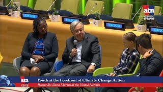 Youth at the Forefront of the Climate Change Action