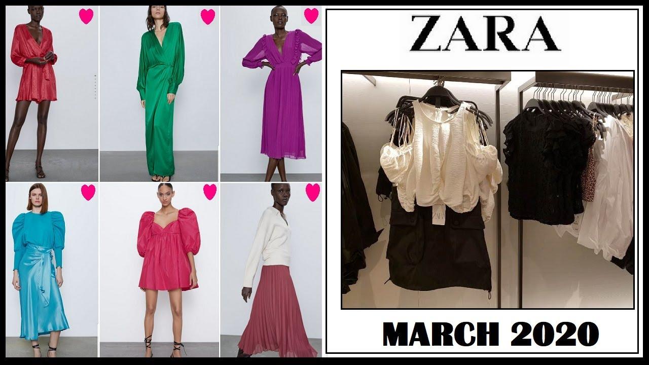 Zara March 2020 New Collection Zara New Women Fashion Zara Latest Arrival Zara New Spring 2020 Youtube