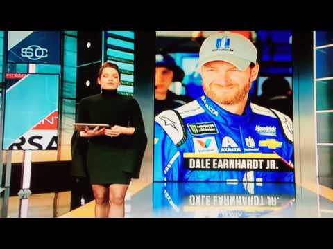 Marty Smith Interviews Dale Earnhardt Jr & Amy Earnhardt 2/19/17 Part 2
