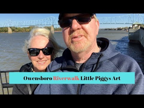 RV Living: Owensboro, Kentucky Riverwalk and Downtown