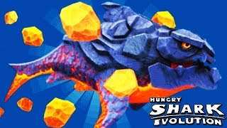 Hungry Shark Evolution - Pyro Special Power - Meteor Storm