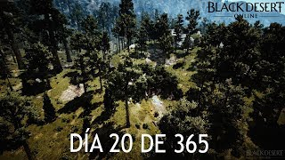 BLACK DESERT EN ESPAÑOL   DIA 20 DE 365   Misterios Estivales Parte 3 - La Esencia del Bosque