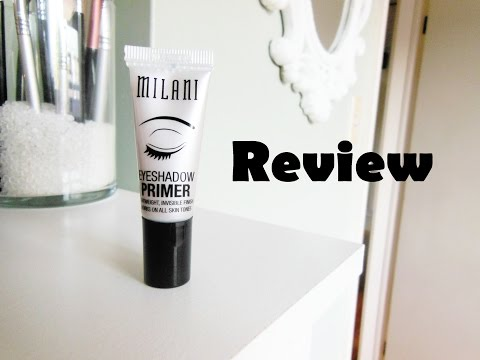Milani Eyeshadow Primer Review and Demo