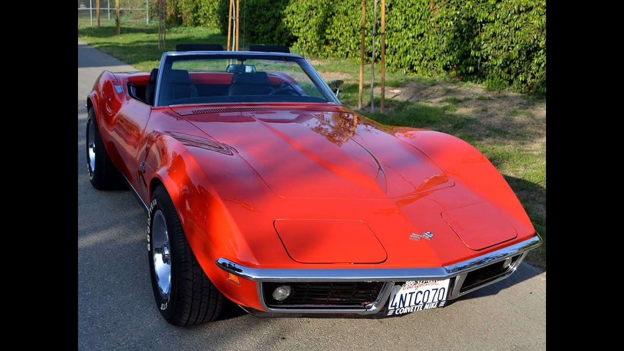 Corvette Stingray 1969 >> SOLD 1969 Chevrolet Corvette 350/350hp Convertible for ...
