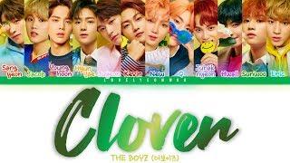 THE BOYZ – Clover Lyrics