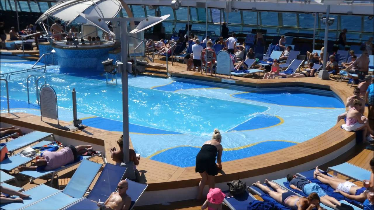 Tui Discovery Pool Closed Due To Rough Seas Youtube