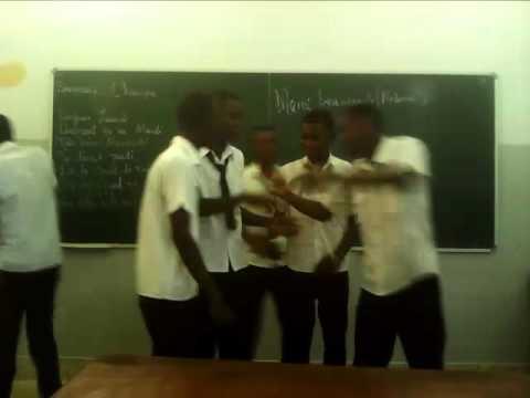 Groupe A3, 12 ª Classe   Merci Beaucoup Madame Dorcas École Secondaire De Pemba