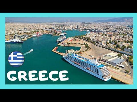GREECE, flying above Athens, Pireas and Salamina, FANTASTIC views