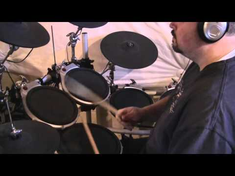 Dire Straits - Sultans of Swing - triggering EZDrummer 2 drumming along to drumless track