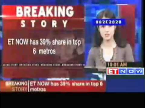 ET NOW named No. 1 business TV channel