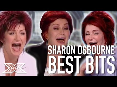 Sharon Osbourne's Funniest Moments! | X Factor Global