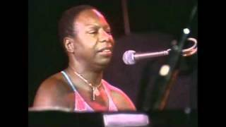 Nina Simone My Baby Just Cares For Me Live At Montreux