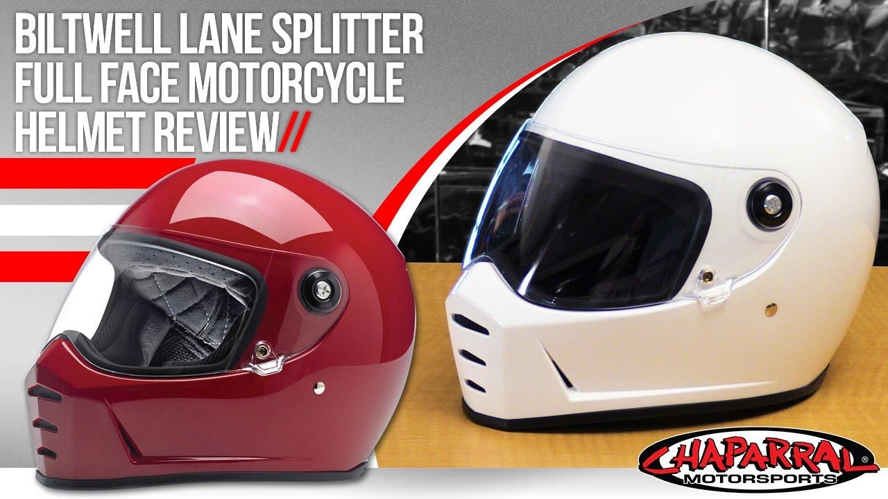 f154486d0bb Biltwell Lane Splitter Full Face Helmet - ChapMoto.com