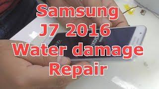 Samsung j7 2016 water damage repair