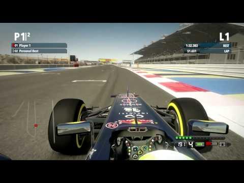 F1 2012 - Bahrain / Red Bull - 1:31.767 + Setup (HD)