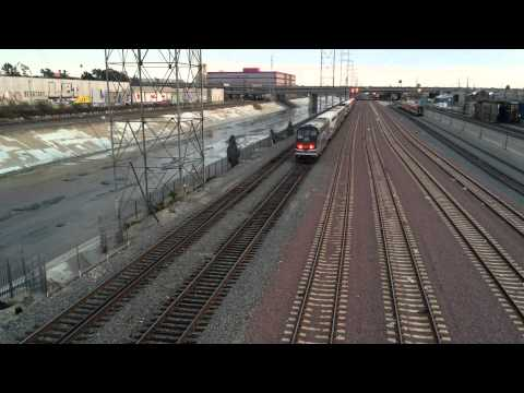 Metrolink empty stock movement @ 7th Street Bridge (Feb 21st