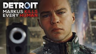 Download Markus Kills Every Human He Sees (Cold Blue Blooded Android Moments) - DETROIT BECOME HUMAN Mp3 and Videos