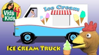 Ice Cream Truck - Timmy Uppet Delivers Ice Cream Cartoon For Kids
