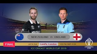New Zealand vs England, Final - Live Cricket Score, Commentary || Live Cricket