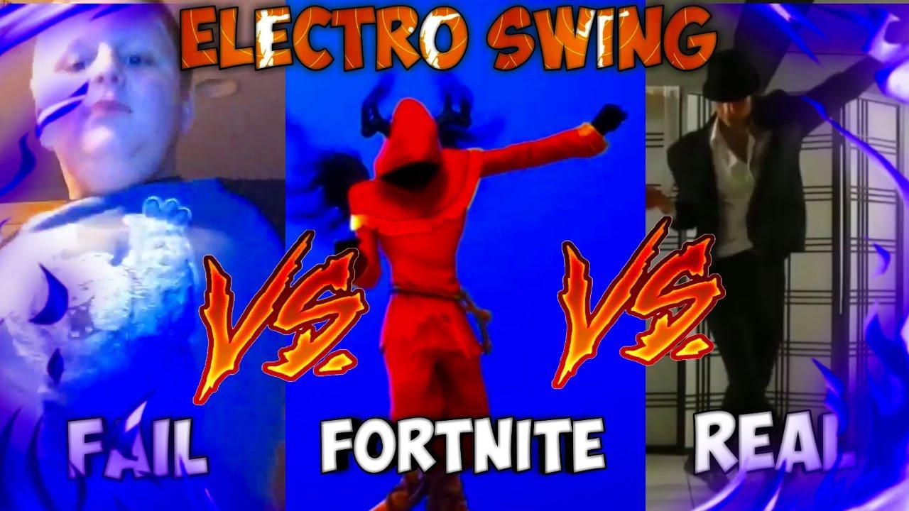 FORTNITE ELECTRO SWING VS REAL VS FAIL #10