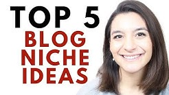 Top 5 Blog Niche Ideas My 3,000+ Blogging Students Choose