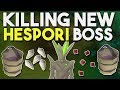 First Kill at the Brand New Hespori Demi Boss! Loot from 2 days of Farming Contracts! [OSRS]