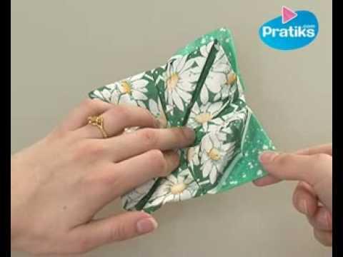 origami comment faire un n nuphar en papier youtube. Black Bedroom Furniture Sets. Home Design Ideas
