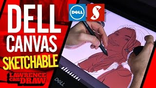 Dell Canvas Hands-on drawinging experience with Sketchable