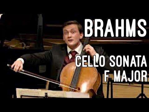 Benedict Kloeckner/ José Gallardo Brahms F major Cello Sonata live in KKL Lucerne