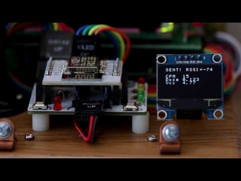 Wifi Kit with OLED Display from DIYGeigerCounter