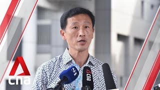 """Reviving aviation hub top priority for Singapore as COVID-19 has """"decimated"""" sector: Ong Ye Kung"""