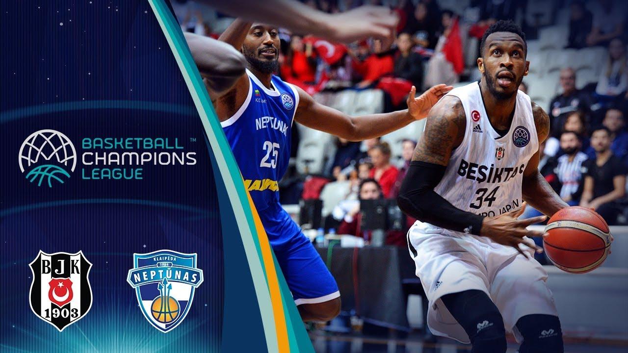 Besiktas Sompo Japan V Neptunas Klaipeda Highlights Basketball
