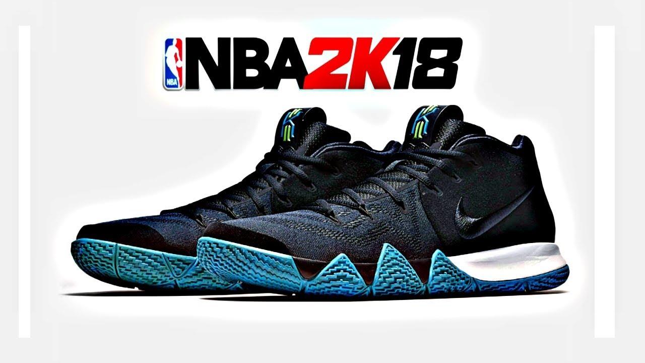 NBA 2K18 Shoe Creator Nike Kyrie 4