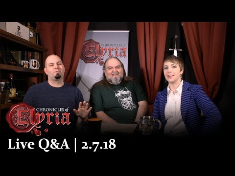 Chronicles of Elyria - Live Q&A | 2.7.18