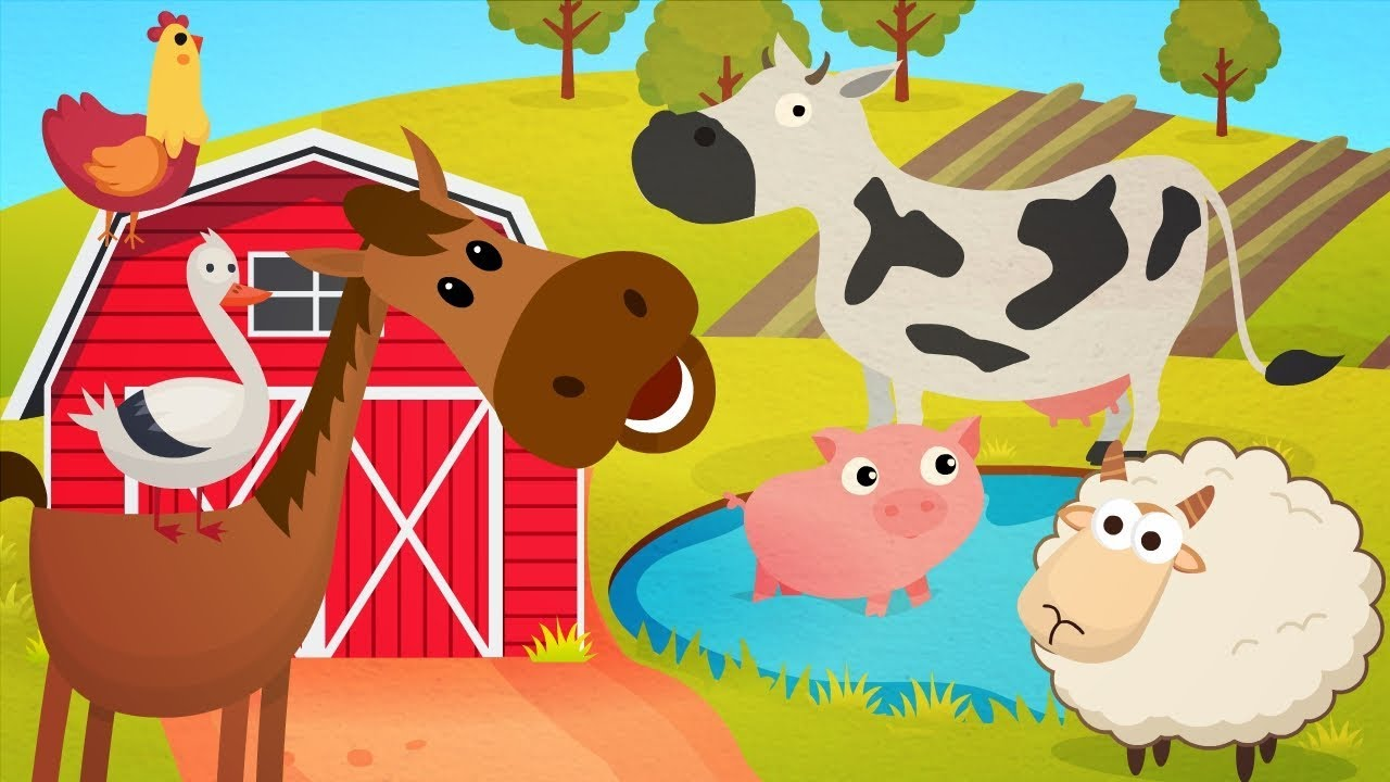 Animal Sounds Song Farm Animals Name And Sound More