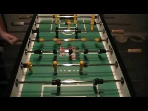 5 Fundamentals of Foosball - Setup - Part 1 - YouTube