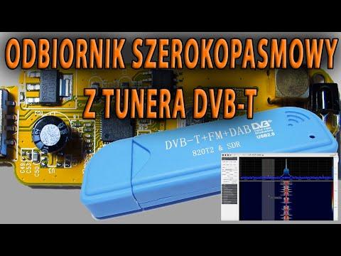Odbiornik Szerokopasmowy Z Tunera DVB-T 25MHz-1700MHz (RTL2832 R820T RTL-SDR)